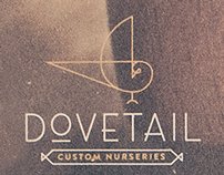 Dovetail Custom Nurseries Branding