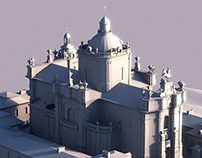Low Poly St. George's Cathedral