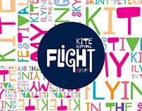 """FLIGHT"" kite festival identity"