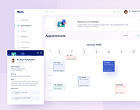 Medical Dashboard - Appointments
