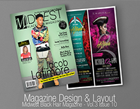 Editorial Design- Hair & Beauty Magazine