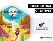 Social Media - Garage2Ghar by BrandzGarage