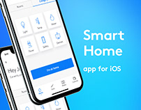 Concept of smart home app for test task