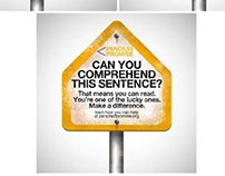 Pencils of Promise - Guerrilla Campaign