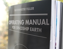 Operating Manual for Spaceship Earth Book Design