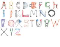 Illustrative Alphabet: Workplace