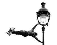 Montmartre jongleur
