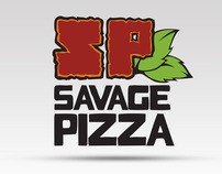 Savage Pizza Re-brand