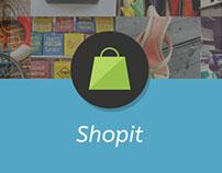 Shopit // App concept