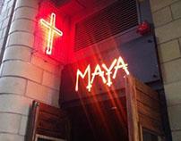 MAYA Nightclub Website