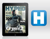 Hyped Magazine for iPad