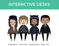 Interactive Desks for a First Grade Classroom