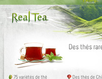 Real Tea : web design for a tutorial