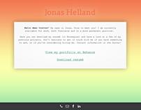 jonashelland.com