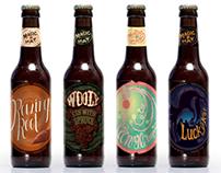 Magic Hat Brewing Company Beer Labels