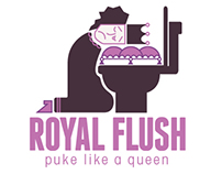Royal Flush: Logo & Stationary Set