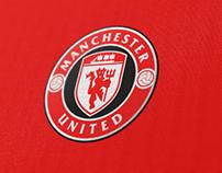 Manchester United Logo Rebranding Unofficial