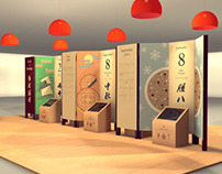 Chinese Holidays and Food Exhibition Design