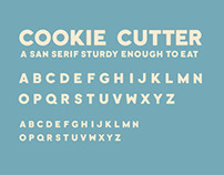 Cookie Cutter Typeface