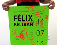 Collaboration: Lecture Poster for Felix Beltran