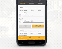 Daddysroad Mobile App UX, UI Design for Android and iOS