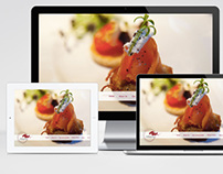 Mikina Catering website