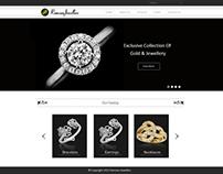 Jewellery Homepage Design