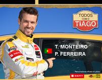 Seat Dakar - Tiago Monteiro - 2008