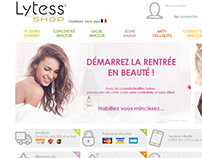 Lytess-shop.com - Webdesign