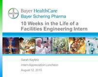 Bayer Facilities Engineering Internship Presentation