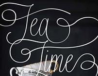TEA TIME / Book Design