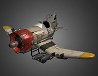 Ratbird Fighter Plane