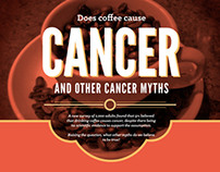 Cancer Myths Infographic