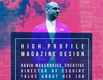 David Mckendrick lecture poster