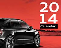 Audi Genuine Parts & Accessories Calendar 2014