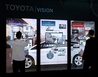 Toyota Vision iWall