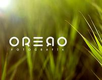 ORERO fotografía (logo)