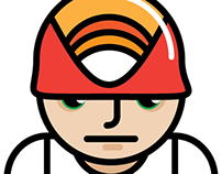 Character design: construction worker