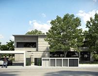 Brute concrete house