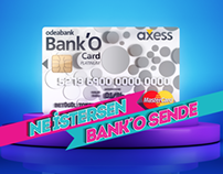 Bank'O Card Axess Launch