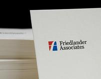 Corporate & Brand Identity, Friedlander&Associates