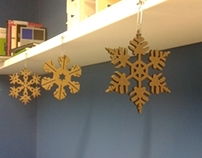 Snow Flakes (Christmas Decorations)