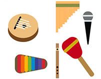 Instruments done in Illustrator