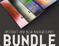 Abstract & Blurr Backgrounds Bundle