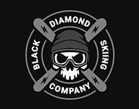 Black Diamond Skiing Company branding