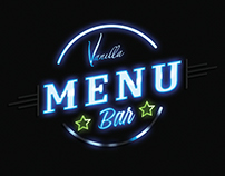 Editorial || Menu || Vanilla coffee BAR 2015