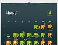 GL calendar
