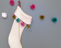 UPCYCLED SWEATER STOCKING