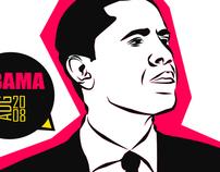Illustration // Barack Obama
