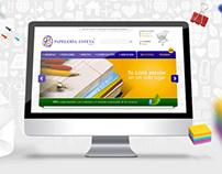 Papelería Esteba Website Design